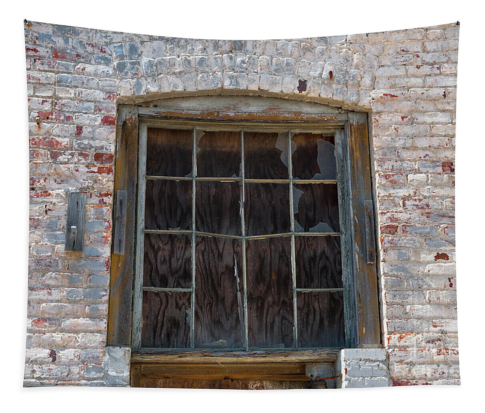 Window Tapestry featuring the photograph Antique Window by Dale Powell
