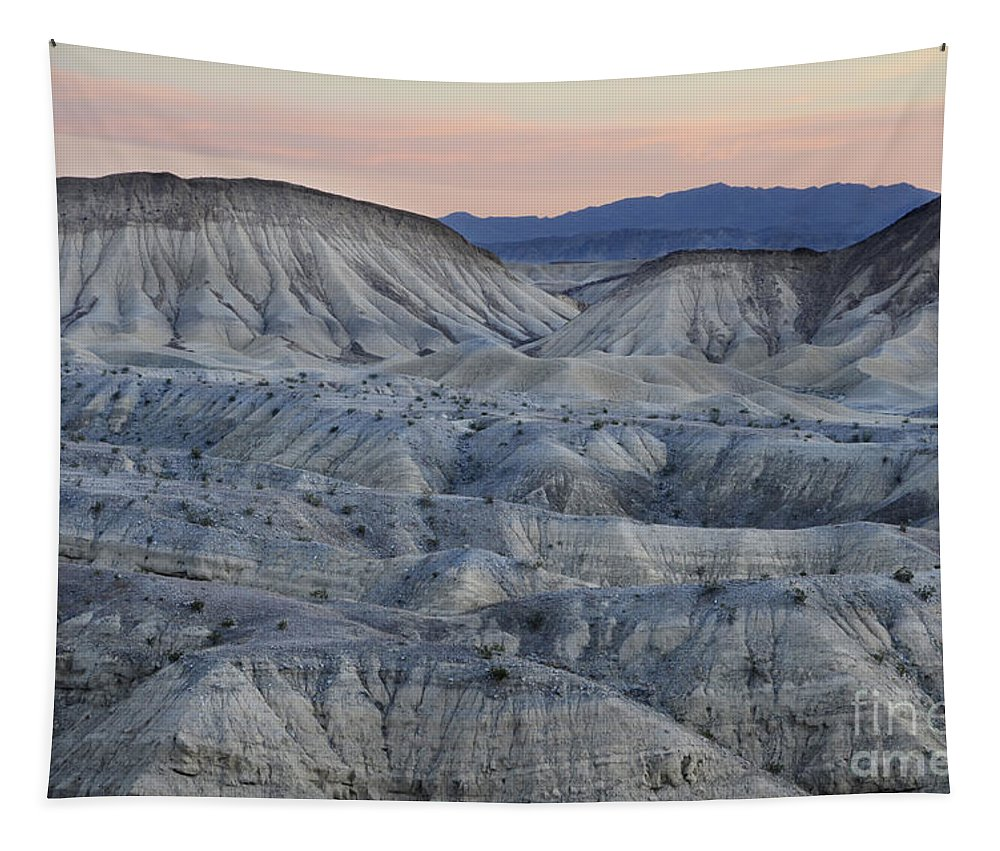 Anza Borrego Tapestry featuring the photograph Anza-borrego Landscape by Bob Christopher