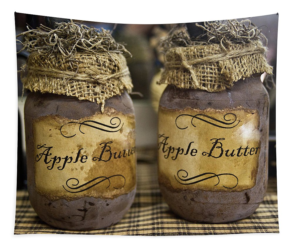 Apple Tapestry featuring the photograph Apple Butter by Douglas Barnett