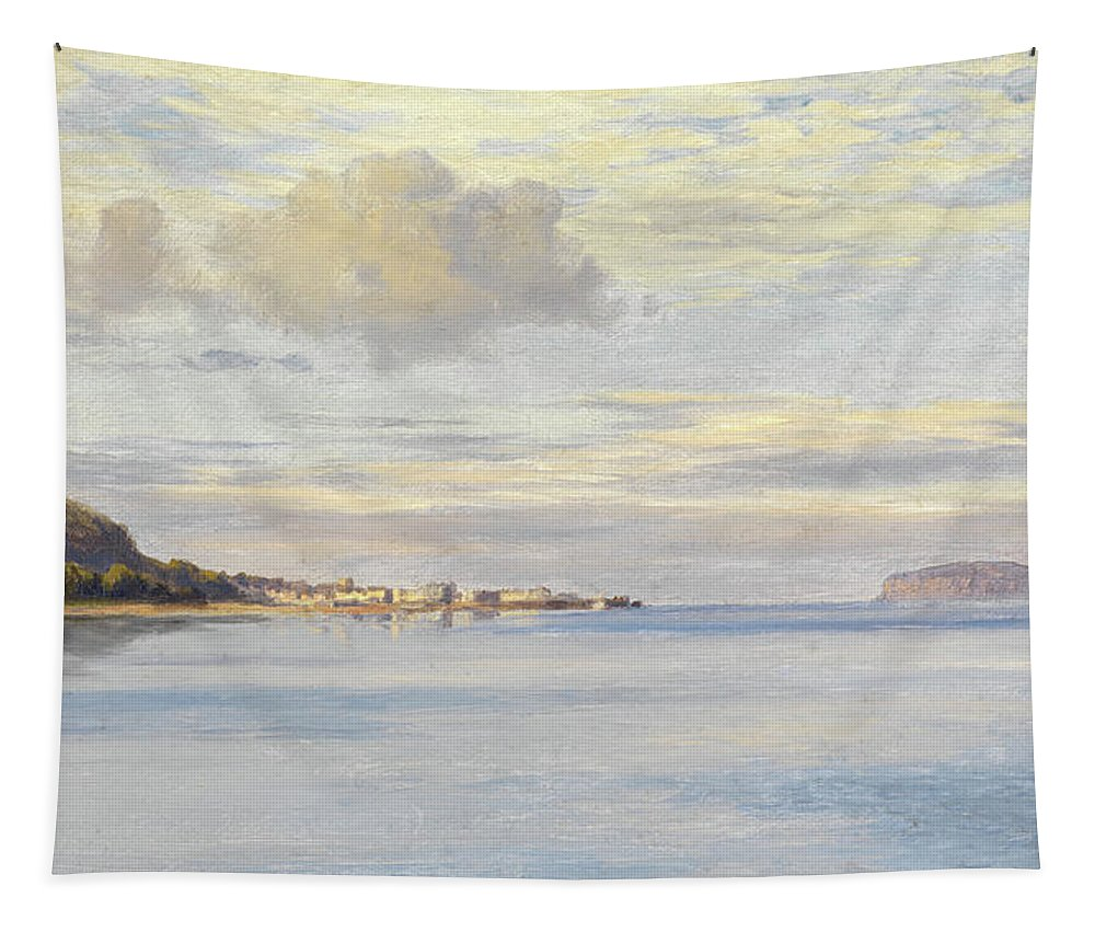Appledore Tapestry featuring the painting Appledore, High Tide by Charles Parsons Knight