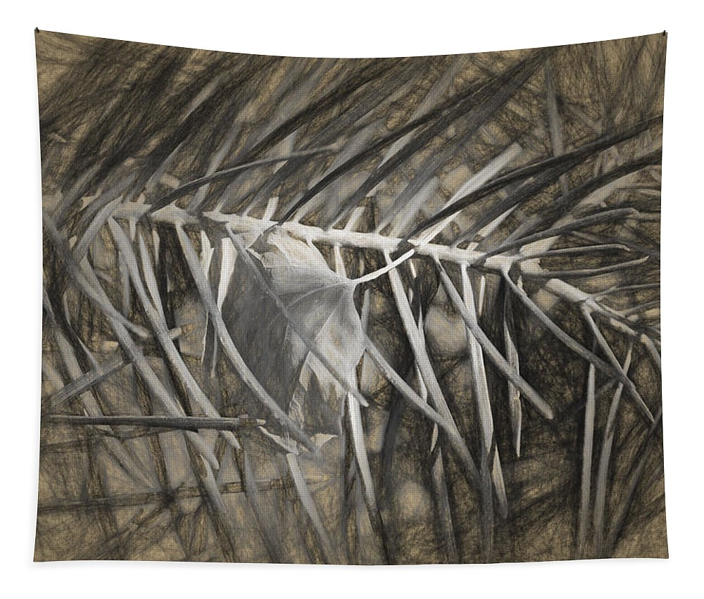 Desert Forest And Garden Tapestry featuring the digital art Arborescence by Becky Titus
