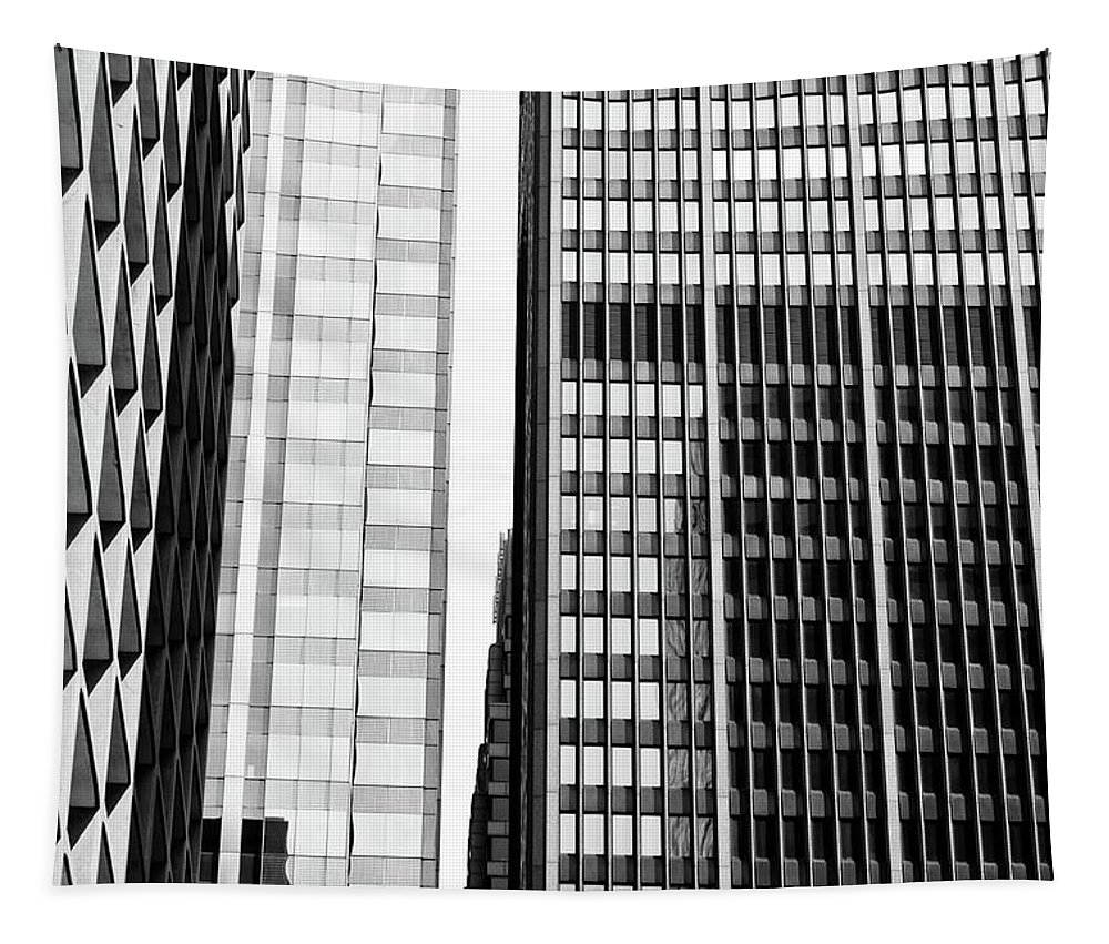 Pattern Tapestry featuring the photograph Architectural Pattern Study 1.0 by Michelle Calkins