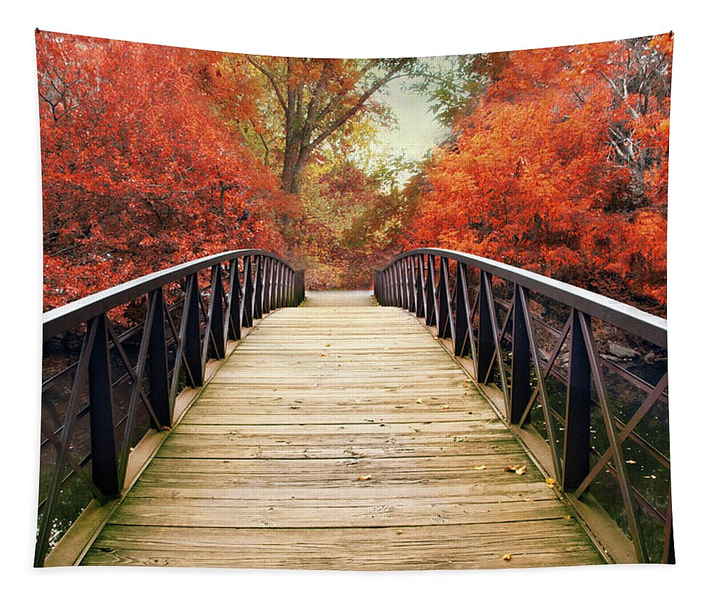 Autumn Tapestry featuring the photograph Ardent Autumn by Jessica Jenney
