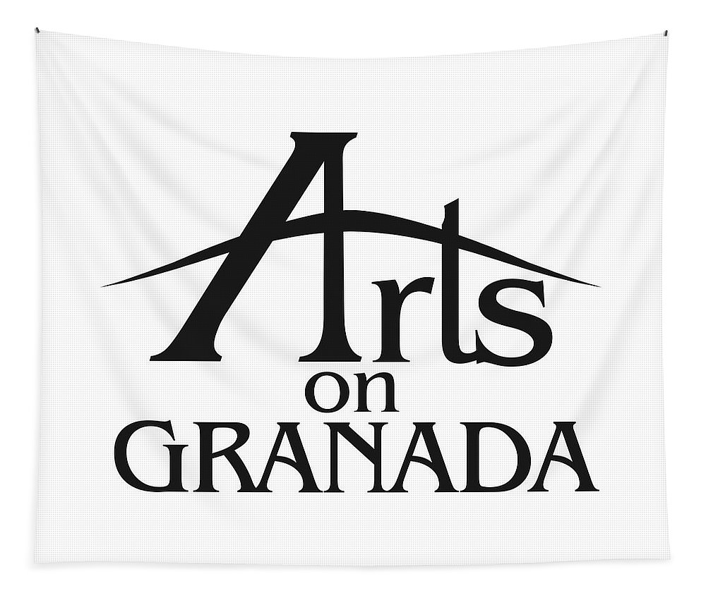Arts On Granada Logo Tapestry featuring the photograph Arts On Granada by Alice Gipson