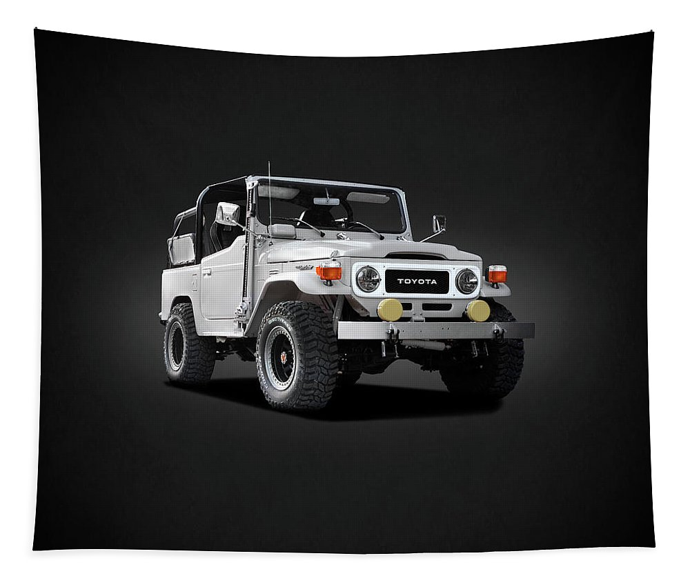 Land Cruiser Bj40 Tapestry featuring the photograph The Land Cruiser by Mark Rogan