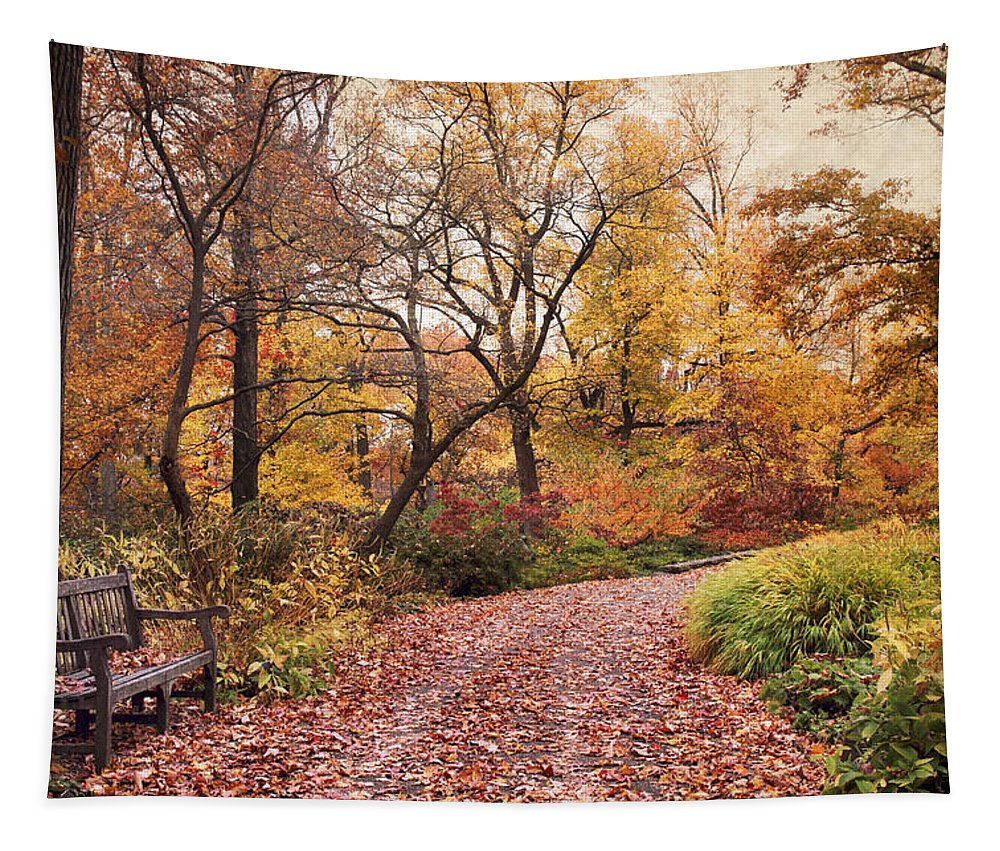Autumn Tapestry featuring the photograph Autumn Azalea Garden by Jessica Jenney