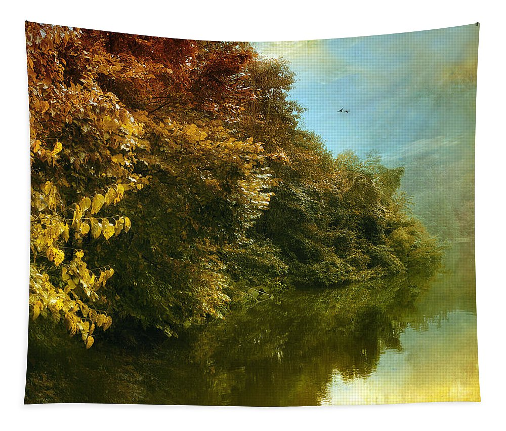 Seasonal Tapestry featuring the photograph Autumn Canvas by Jessica Jenney