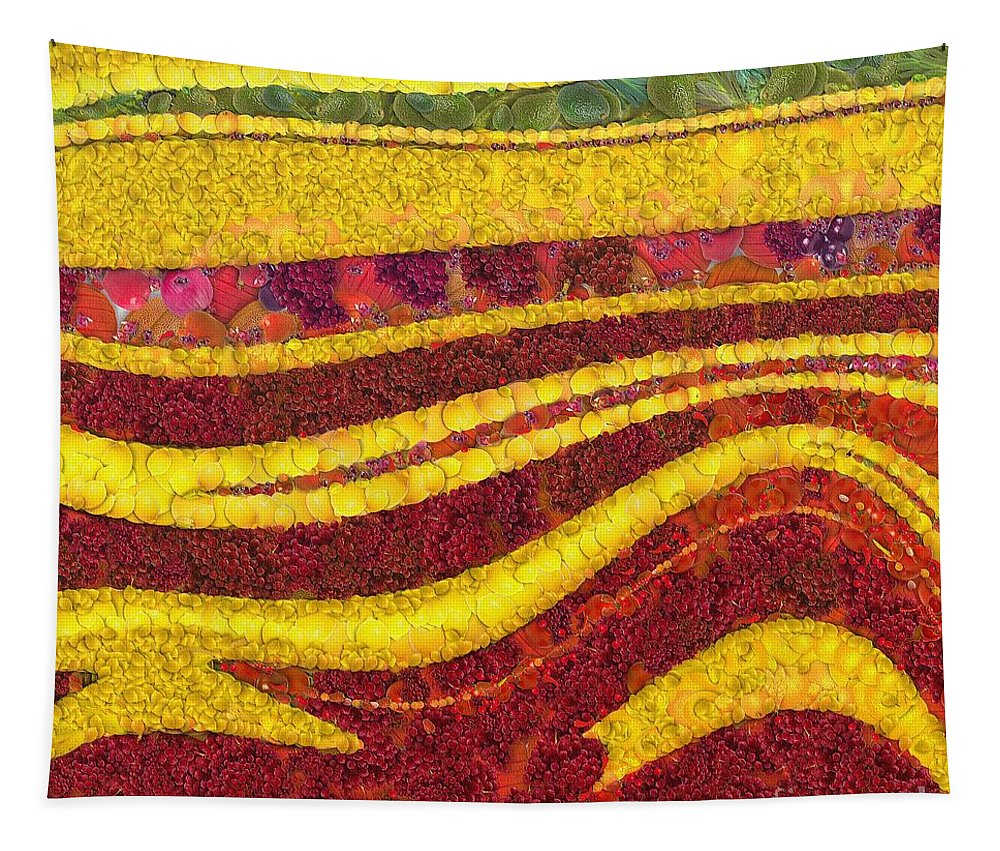 Autumn Tapestry featuring the painting Autumn by Dragica Micki Fortuna