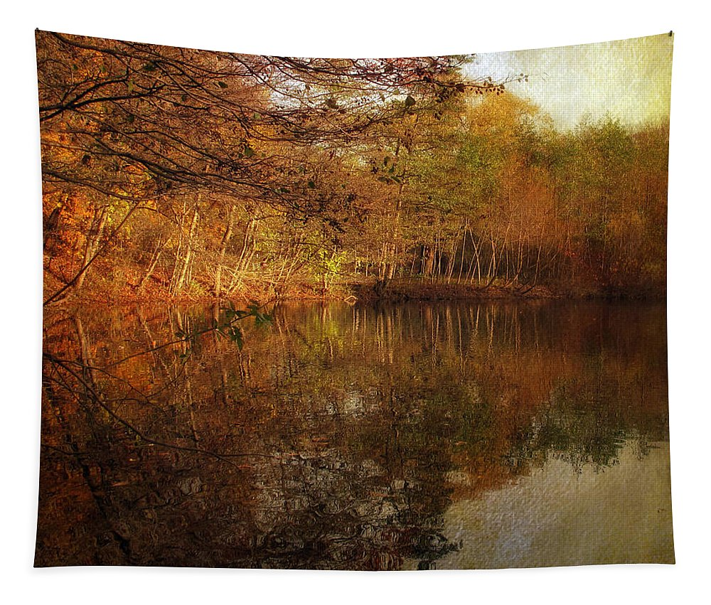 Autumn Tapestry featuring the photograph Autumn Glow by Jessica Jenney