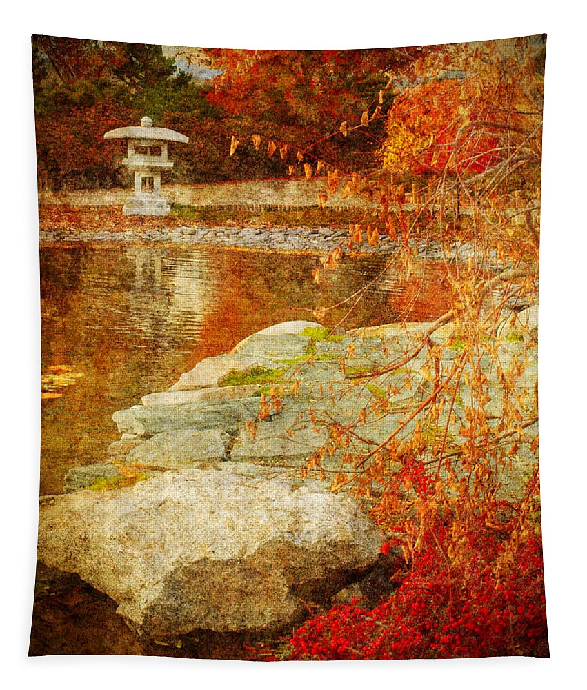 Autumn Tapestry featuring the photograph Autumn In The Gardens by Tara Turner