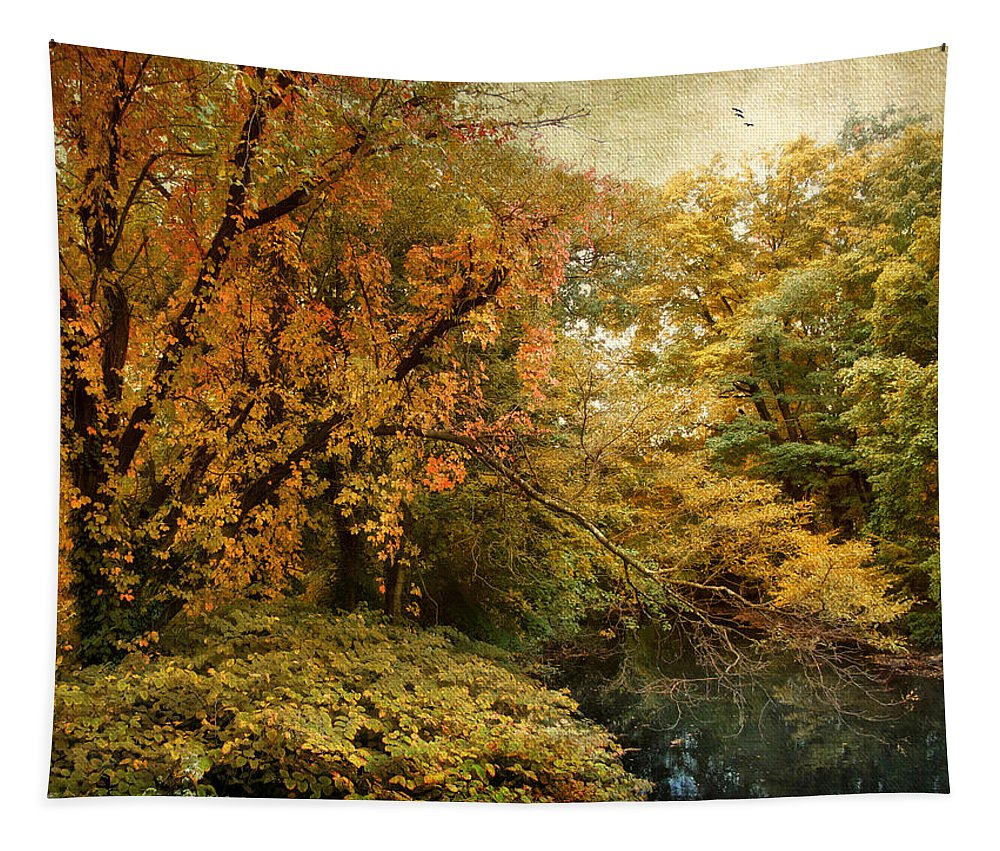 Autumn Tapestry featuring the photograph Autumn Palette by Jessica Jenney