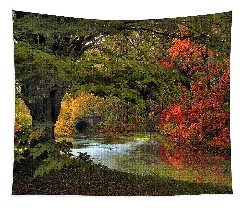 Autumn Tapestry featuring the photograph Autumn Reverie by Jessica Jenney