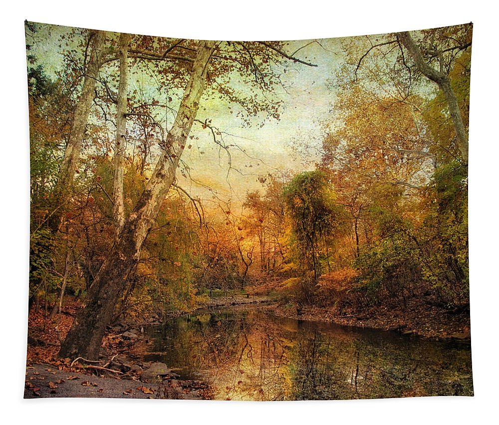 Autumn Tapestry featuring the photograph Autumnal Tones by Jessica Jenney