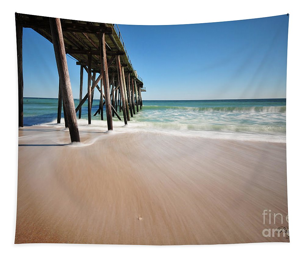 Ocean Tapestry featuring the photograph Avon By The Sea by Paul Ward