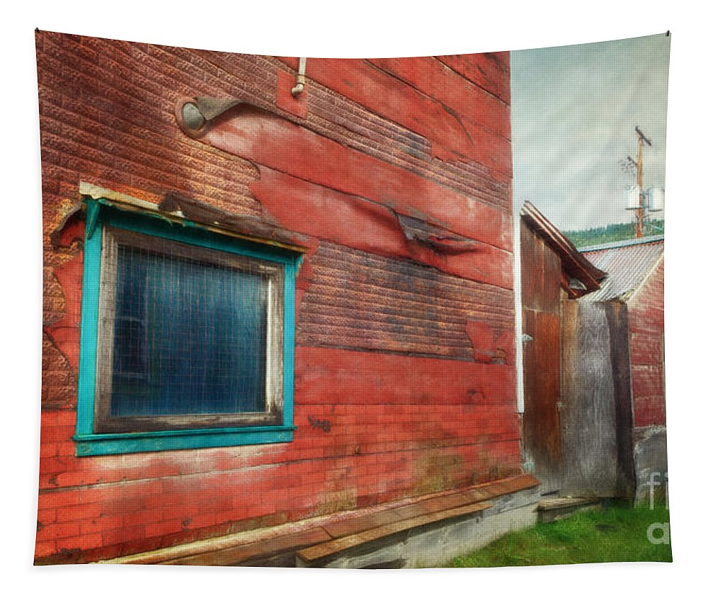 Goldrush Tapestry featuring the photograph Back Alley by Priska Wettstein