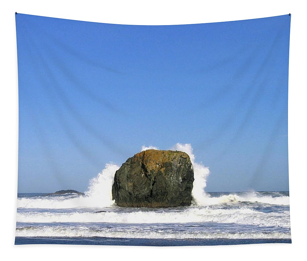 Bandon Tapestry featuring the photograph Bandon 14 by Will Borden