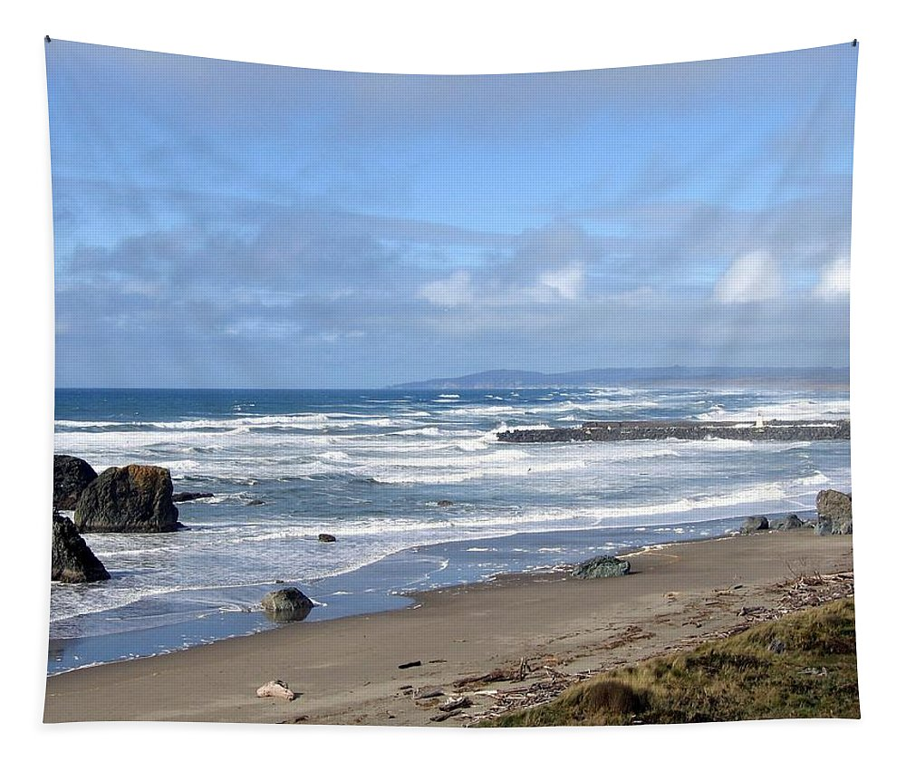 Bandon Tapestry featuring the photograph Bandon 21 by Will Borden