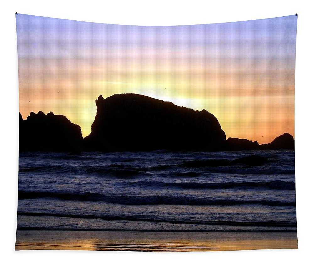Bandon Tapestry featuring the photograph Bandon 22 by Will Borden