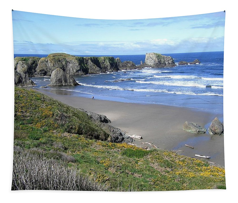 Bandon Tapestry featuring the photograph Bandon 8 by Will Borden