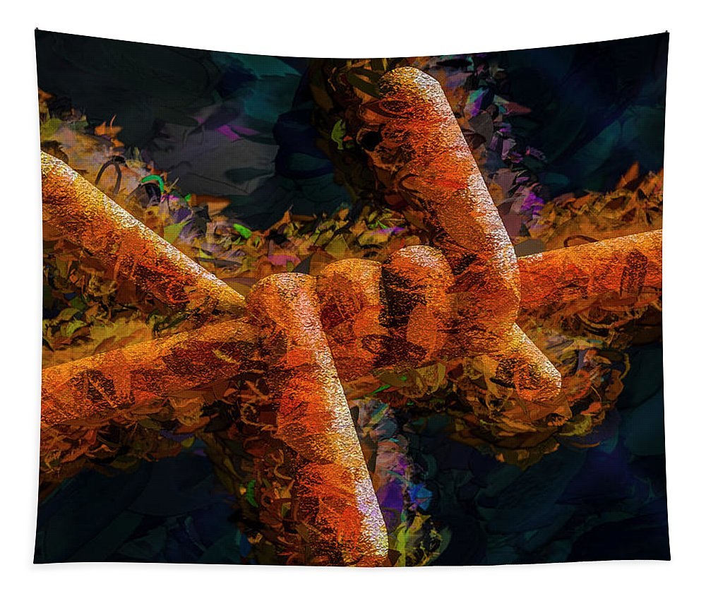 Photography Tapestry featuring the photograph Barbed by Paul Wear