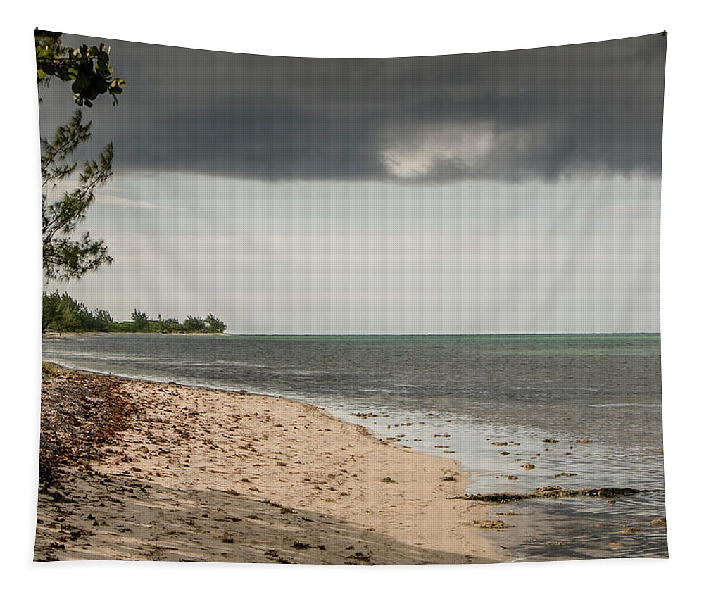 Barkers National Park Beach Tapestry featuring the photograph Barkers National Park Beach by Teresa Wilson