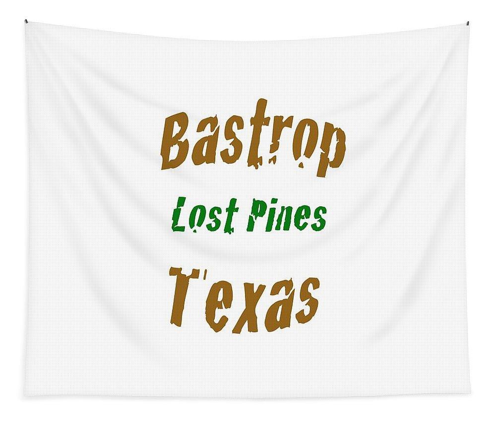 bastrop Texas women's Fashion girl's Fashion Fashion fashion Design Texas Tapestry featuring the photograph Bastrop Texas by Bill Owen