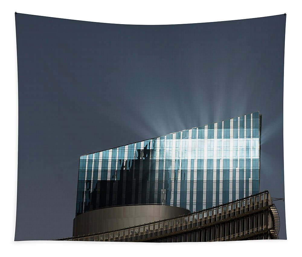 Beacon Tapestry featuring the photograph Beacon by Alex Lapidus