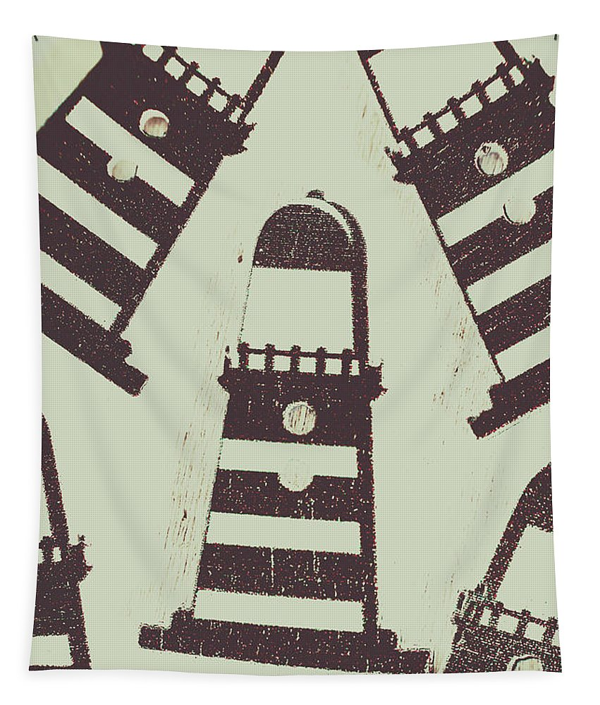 Tower Tapestry featuring the photograph Beacon Buttons by Jorgo Photography - Wall Art Gallery