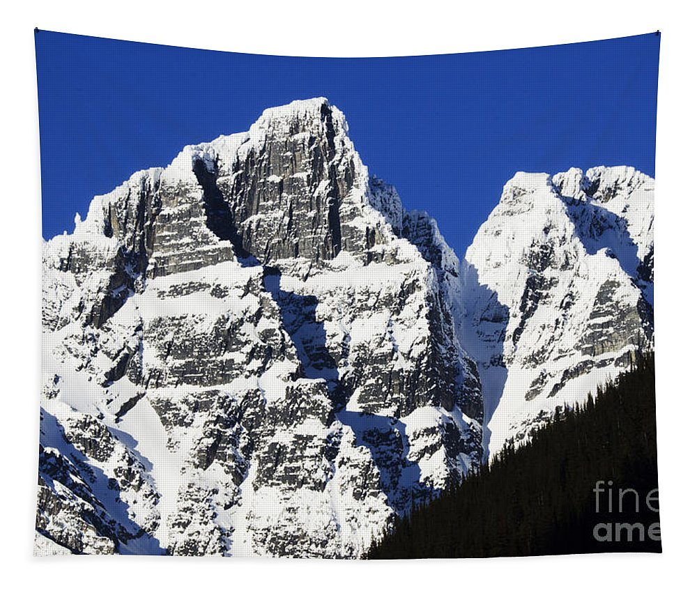 Glacier Tapestry featuring the photograph Beautiful Canada 14 by Bob Christopher