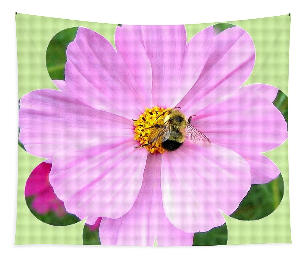 Photo Design Tapestry featuring the photograph Bee-line 1 by Will Borden