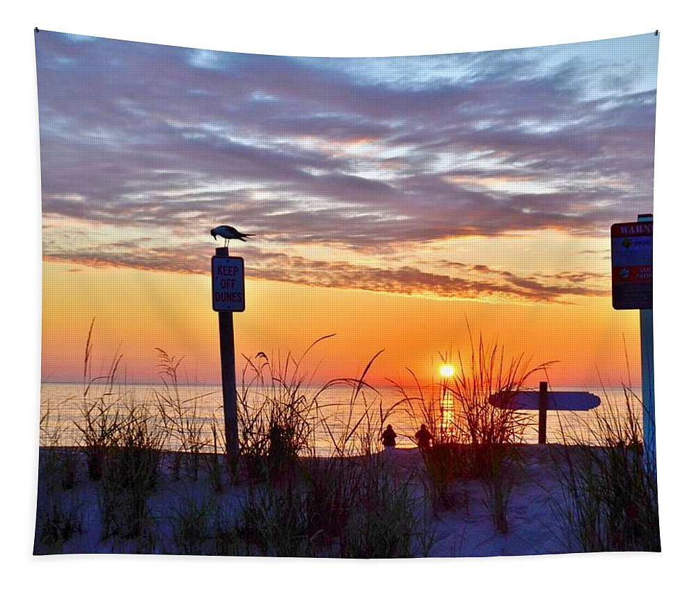 Sunrise Tapestry featuring the photograph Sunrise In Paradise 2 by Kim Bemis