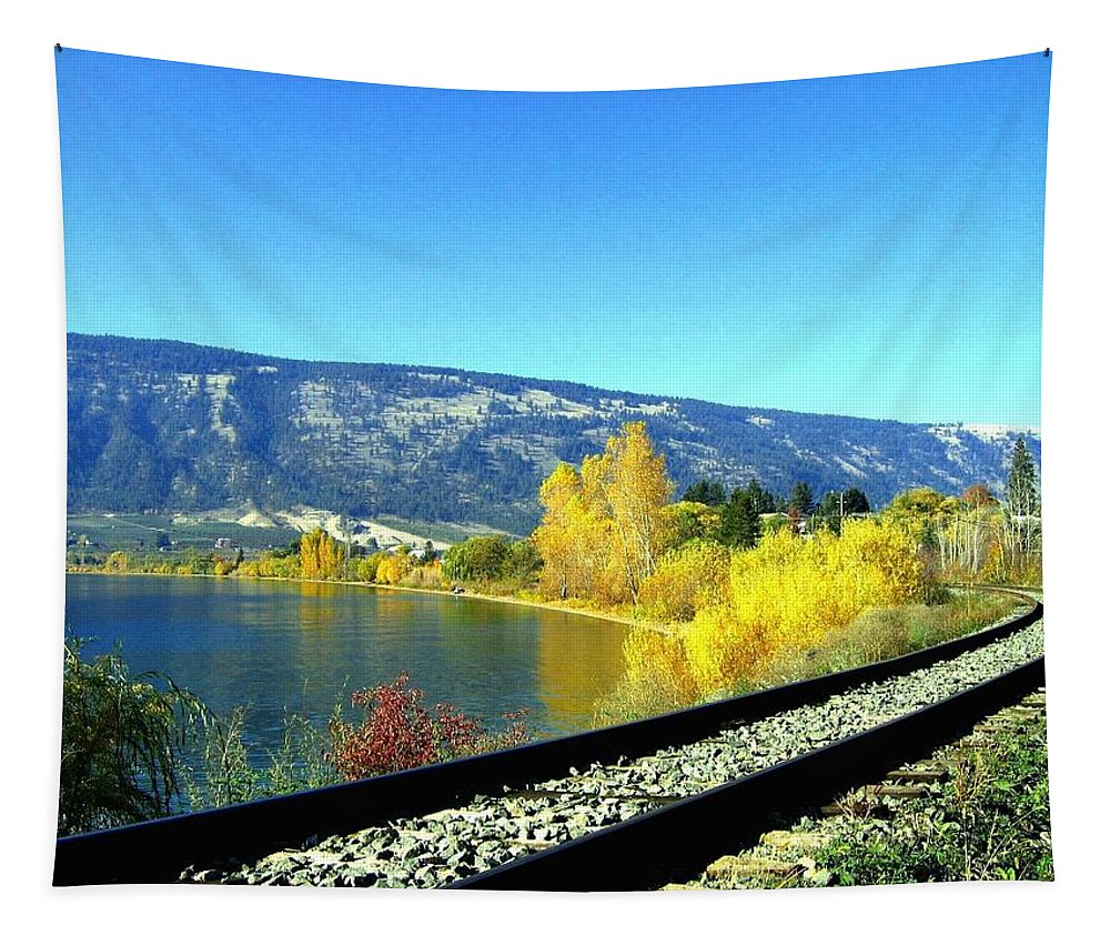 Railway Tapestry featuring the photograph Beyond The Next Bend by Will Borden