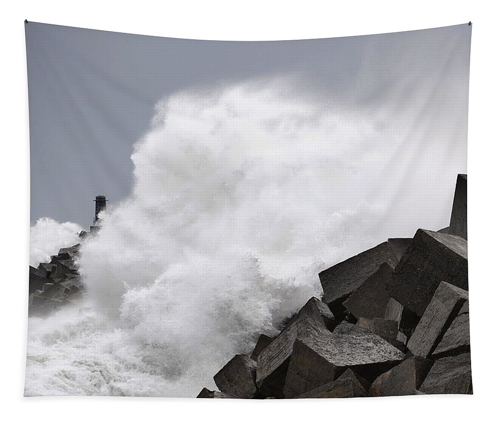 Spain Tapestry featuring the photograph Big Waves II by Rafa Rivas