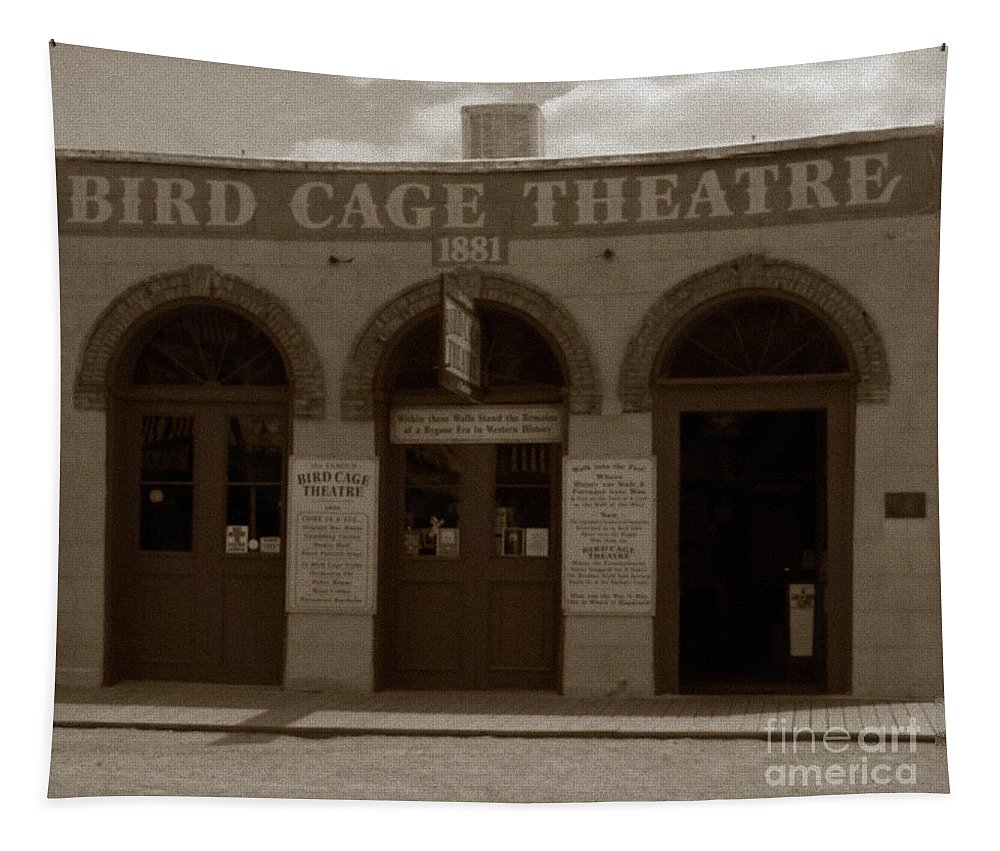 Bird Cage Tapestry featuring the photograph Bird Cage by Charleen Treasures