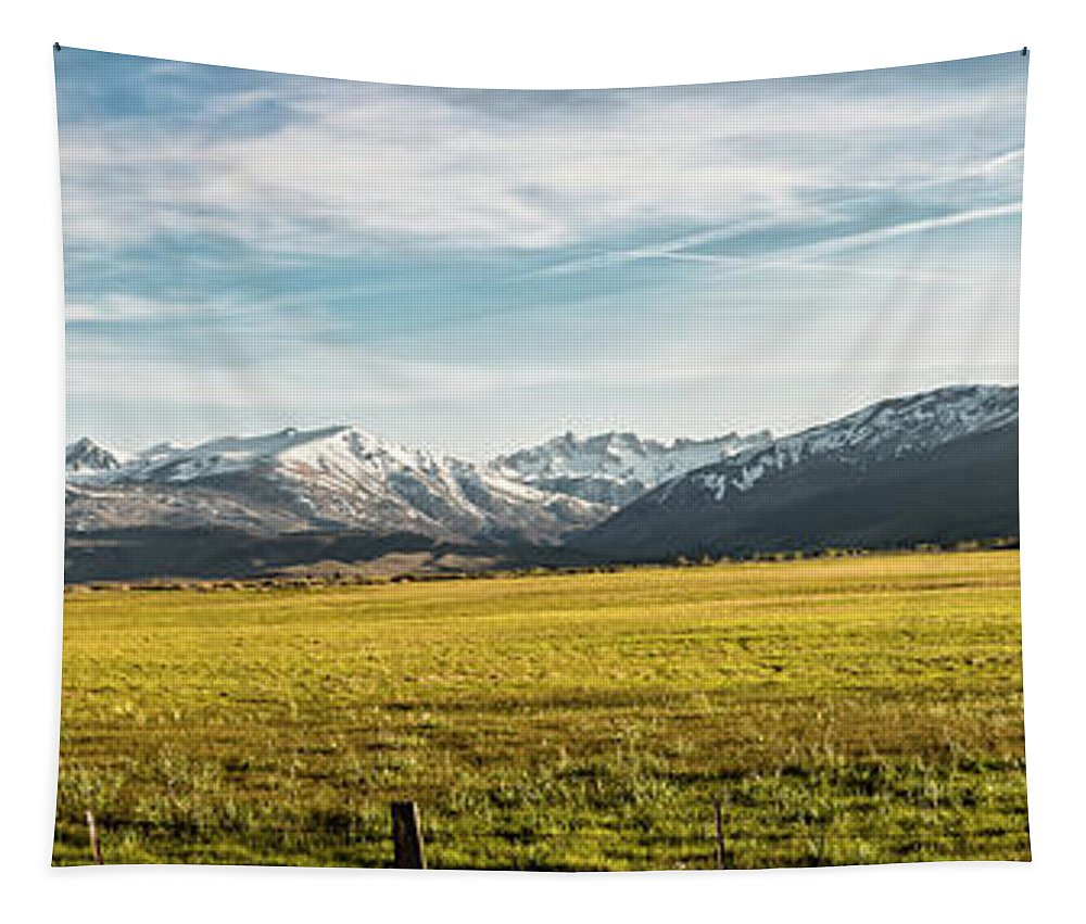 Beauty In Nature Tapestry featuring the photograph Bloody Mountain by Sean O'Cairde