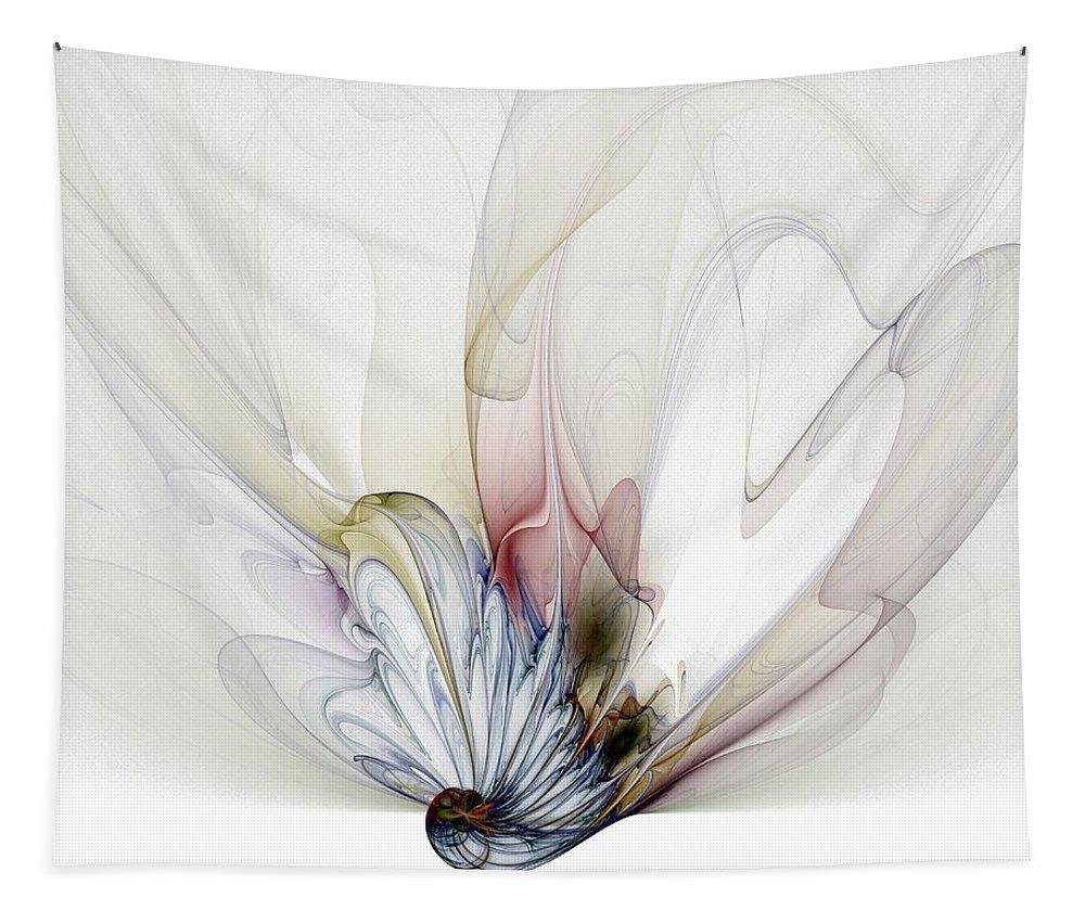 Digital Art Tapestry featuring the digital art Blow Away by Amanda Moore