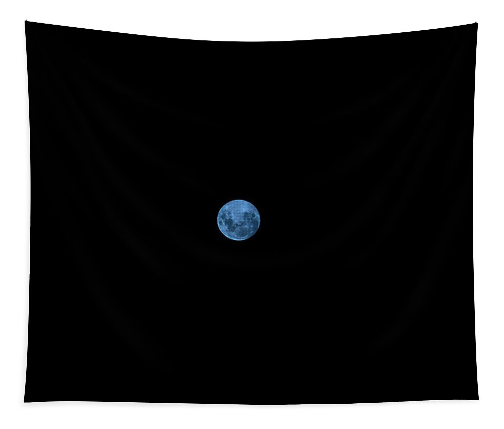 Blue Tapestry featuring the photograph Blue Moon by Tania Read