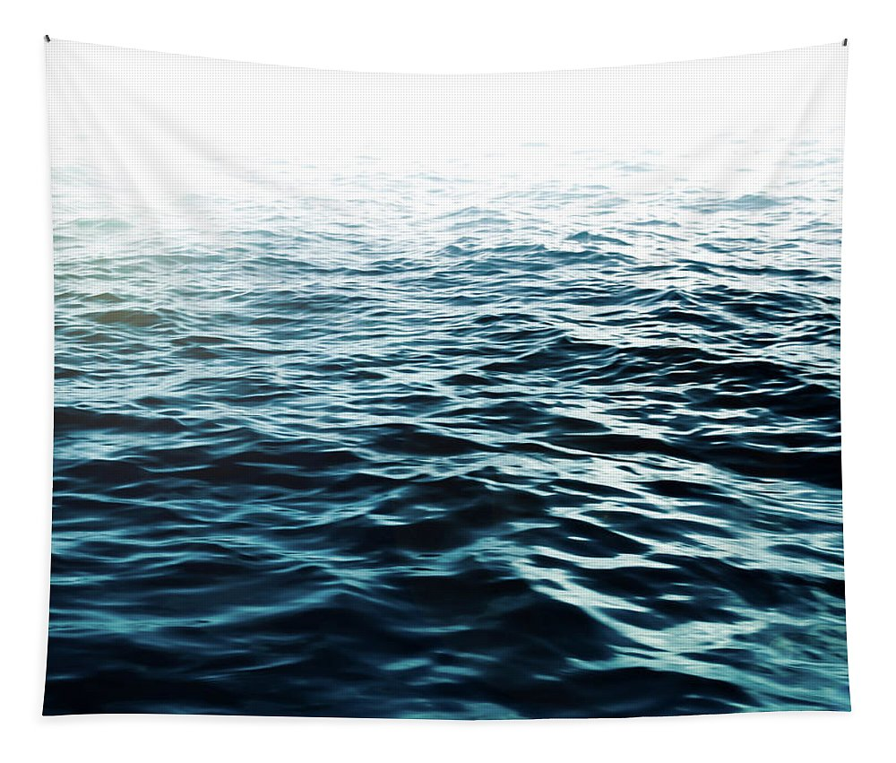 Sea Tapestry featuring the photograph Blue Sea by Nicklas Gustafsson