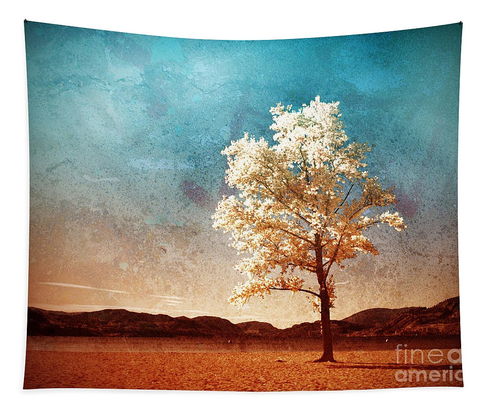 Beach Tapestry featuring the photograph Blue Sky Dreams by Tara Turner