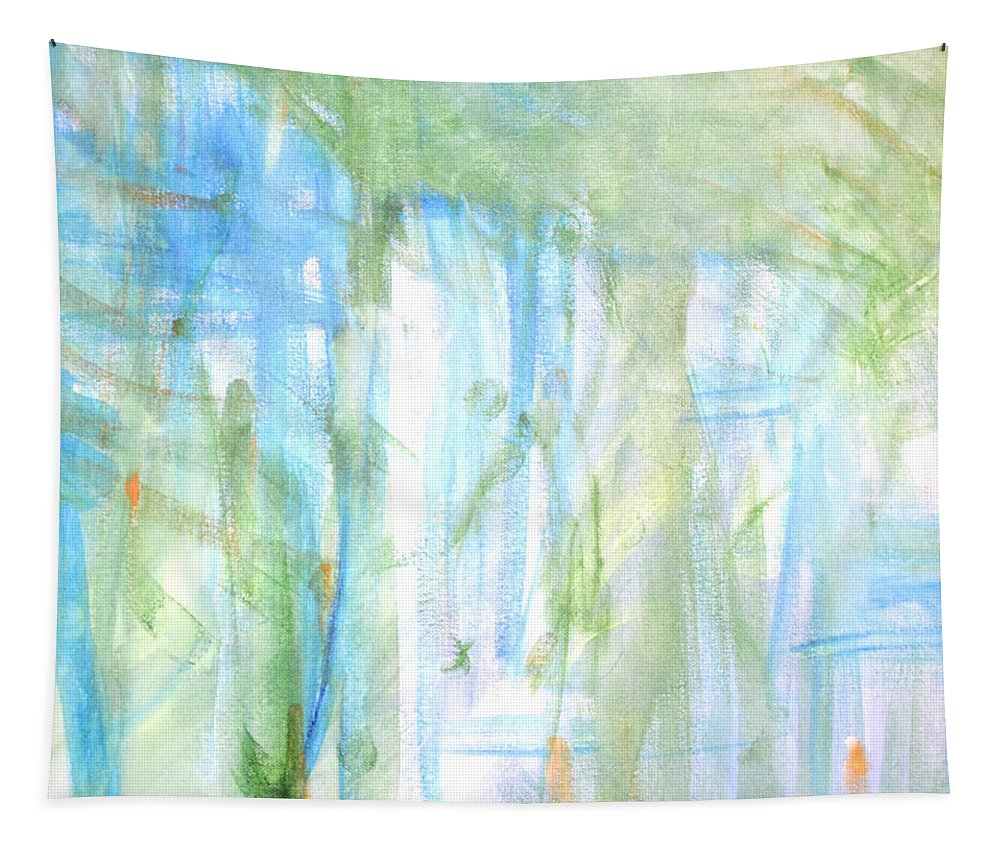 Tapestry featuring the photograph Blues And Greens 2 by Wendy Raatz Photography
