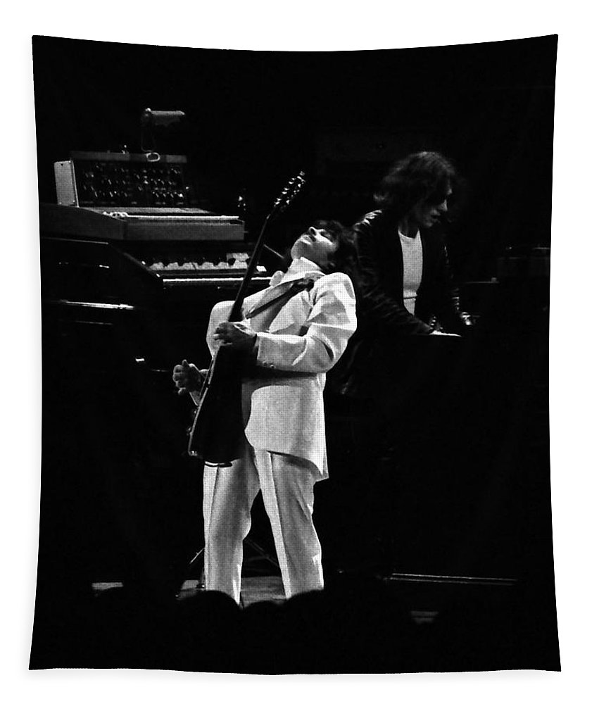Blue Oyster Cult Tapestry featuring the photograph Boc#148 by Ben Upham