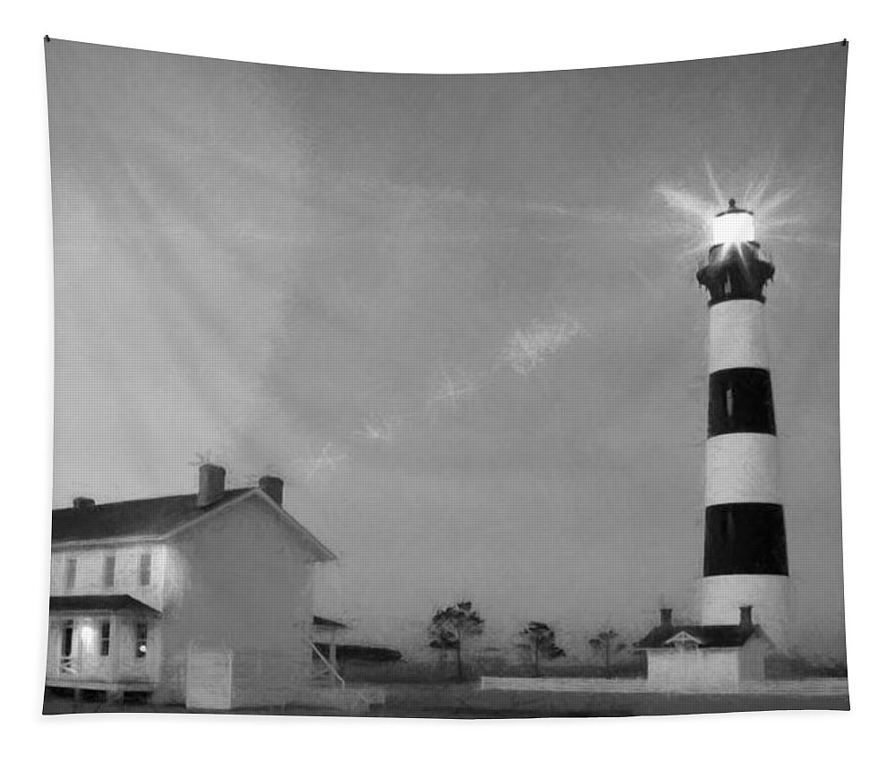 Alicegipsonphotographs Tapestry featuring the photograph Bodie Lighthouse by Alice Gipson