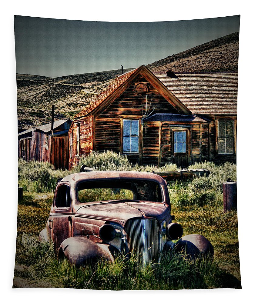 Bodies Finest Digitally Enhanced Tapestry featuring the photograph Bodies Finest 1 by Chris Brannen