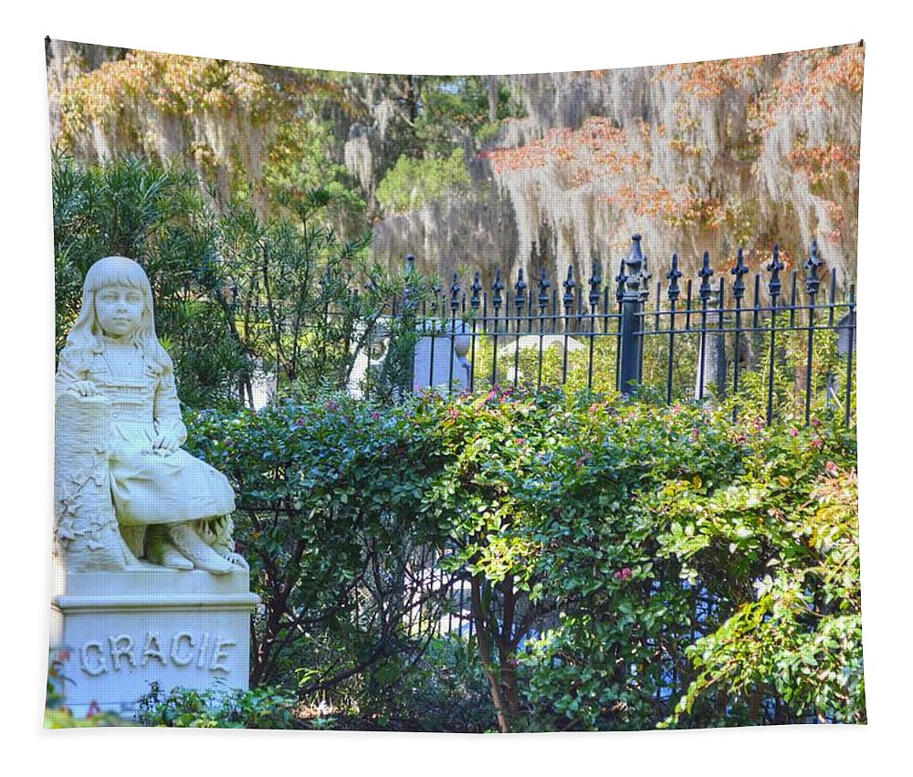 Bonaventure Tapestry featuring the photograph Bonaventure's Gracie by Linda Covino