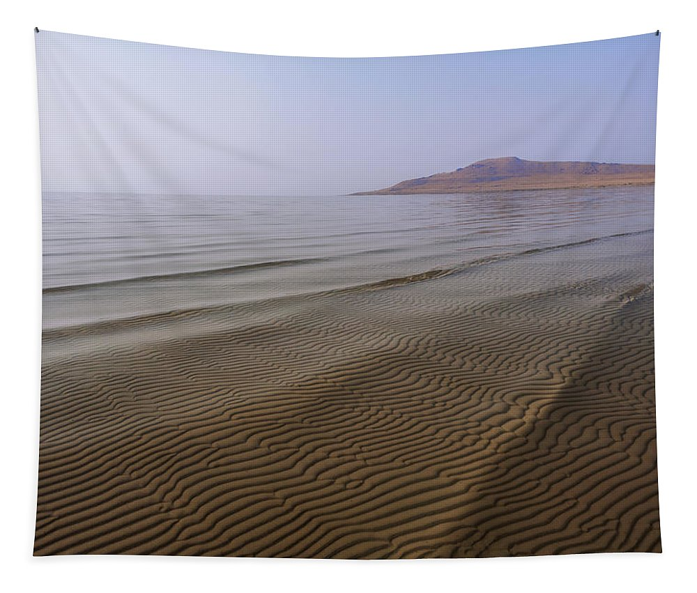 Bottom Ripples Tapestry featuring the photograph Bottom Ripples by Chad Dutson