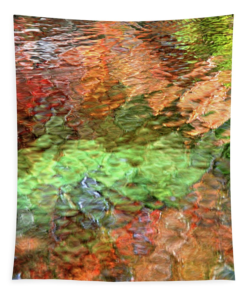 Abstract Water Tapestry featuring the photograph Brilliance by Christina Rollo