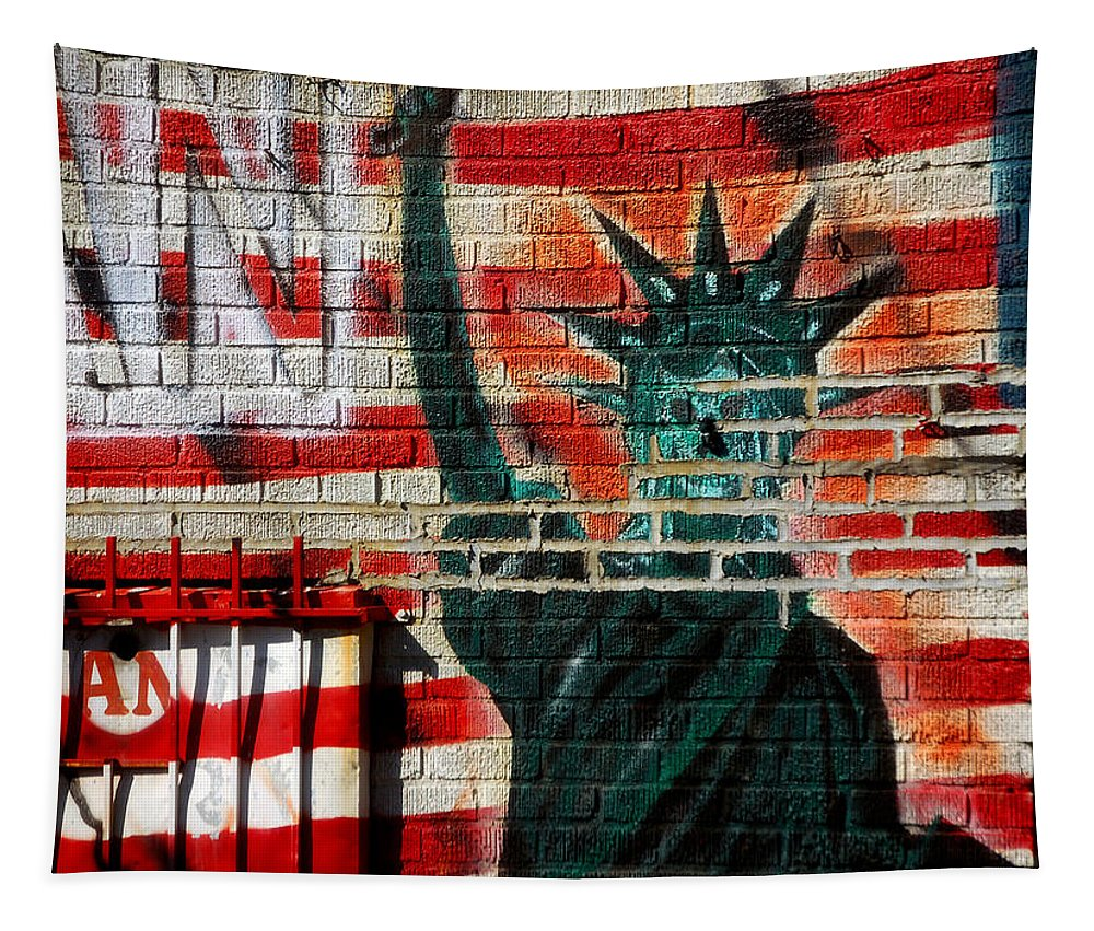 Newyork08 Tapestry featuring the photograph Bronx Graffiti - 4 by RicardMN Photography