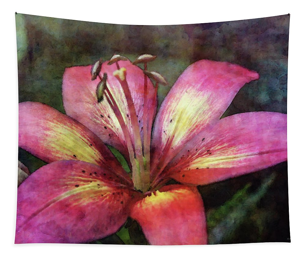 Impressionist Tapestry featuring the photograph Brushed 3454 Idp_2 by Steven Ward