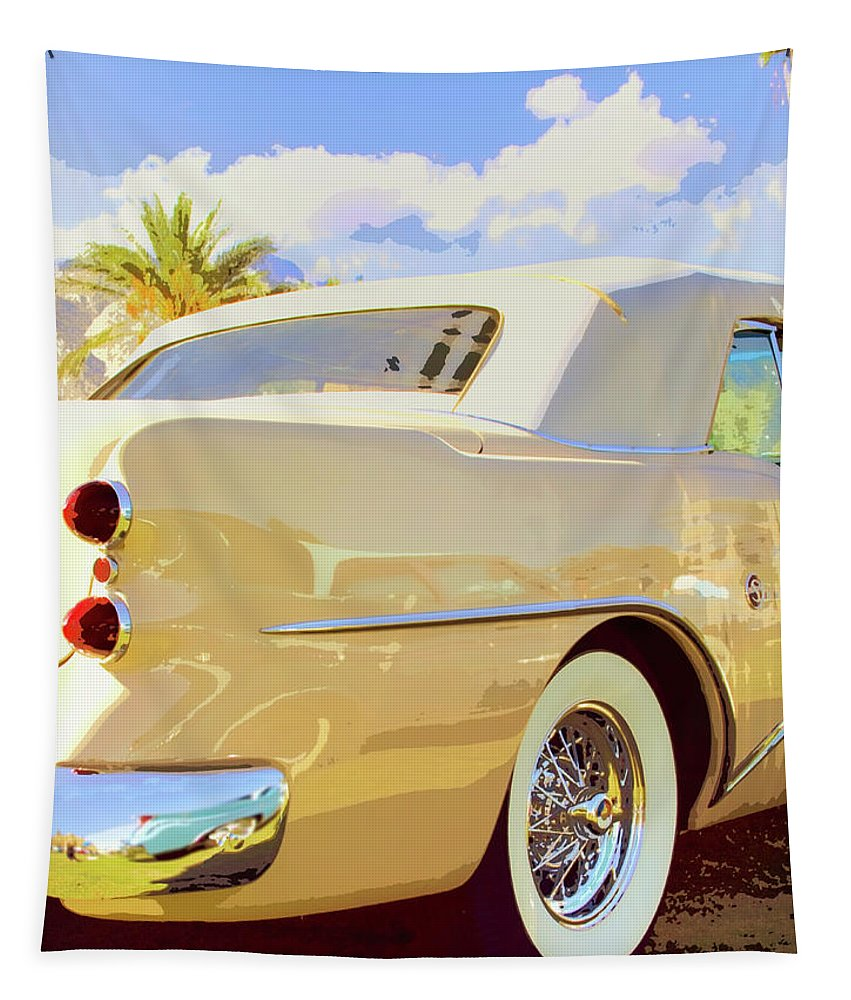 Automobile Tapestry featuring the photograph Buick Super by William Dey