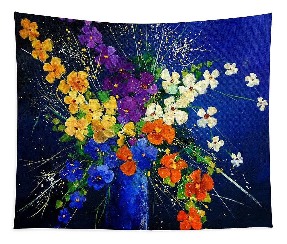 Poppies Tapestry featuring the print Bunch 0408 by Pol Ledent